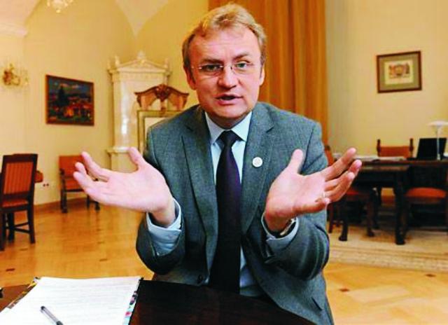 Ľvovský primátor Andrej Sadovyj