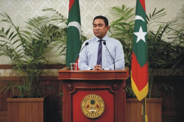 Maldivský prezident Jamín Abdal Gajúm