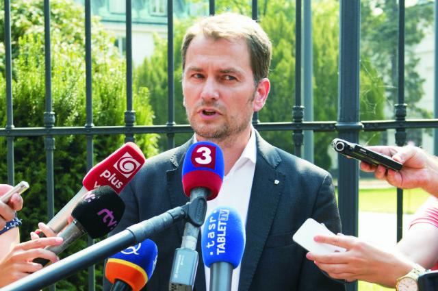 Predseda hnutia Obyčajní ľudia a nezávislé osobnosti Igor Matovič