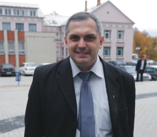 Na snímke politológ Roman Michelko. Foto: HSP