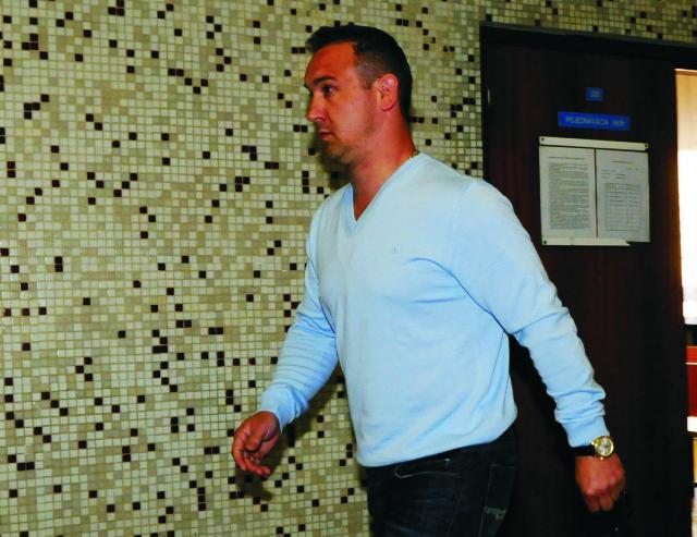 Špecializovaný trestný súd (ŠTS) v Pezinku dnes odročil pojednávanie v prípade Róberta O. (na snímke), považovaného za bossa východoslovenského podsvetia
