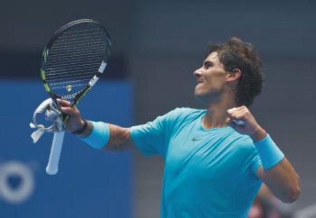 Na snímke španielsky tenista Rafael Nadal