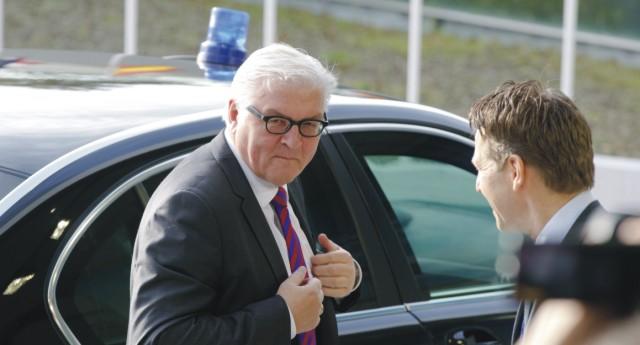 Nemecký minister zahraničných vecí  Frank Walter Steinmeier
