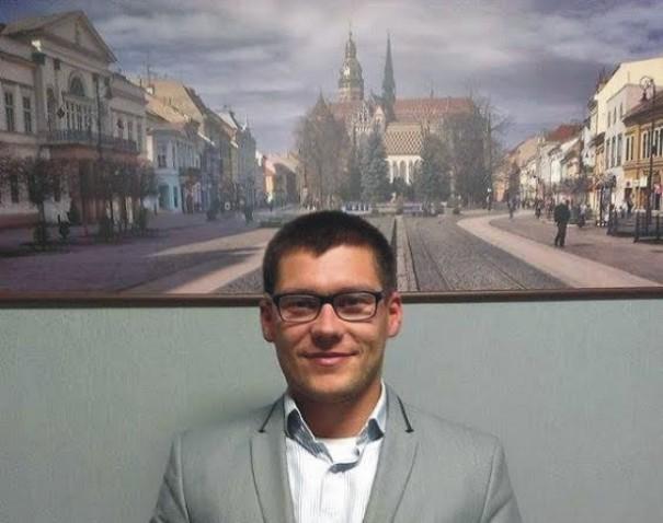 Na snímke Tomáš Kališka, dvadsaťsedemročný majster Taekwonda