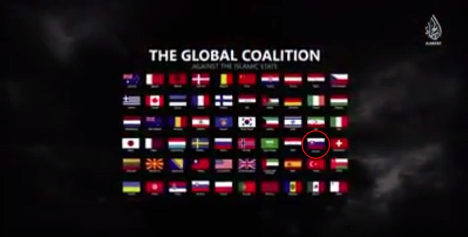 """Takzvaná """"koalícia diablov"""", do ktorej Islamský štát zaradil aj Slovensko"""