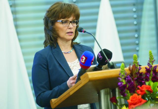 Predsedníčka Úradu pre verejné obstarávanie Zita Táborská
