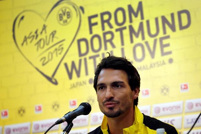 Na snímke stopér nemeckého bundesligového klubu Borussia Dortmund Mats Hummels
