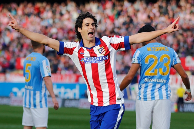 Na snímke hráč Atletico de Madrid Tiago