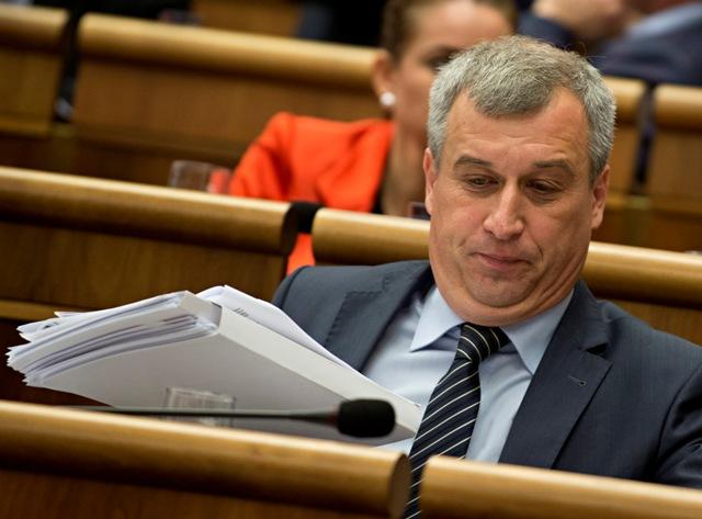 Na snímke poslanec NR SR, podpredseda KDH Pavol Zajac