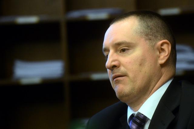 Na snímke námestník generálneho prokurátora pre trestný úsek Peter Šufliarsky