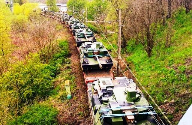 Zbrane smerujúce do Litvy