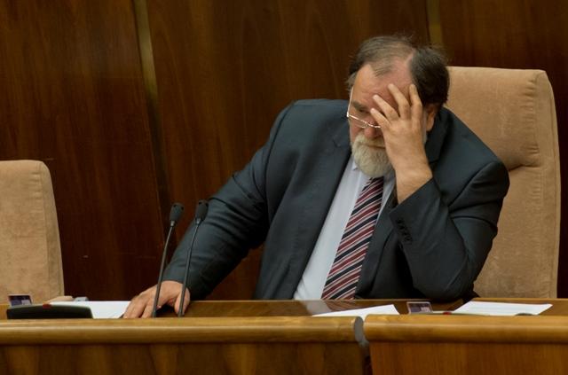 Na snímke podpredseda NR SR Miroslav Číž (SMER-SD)