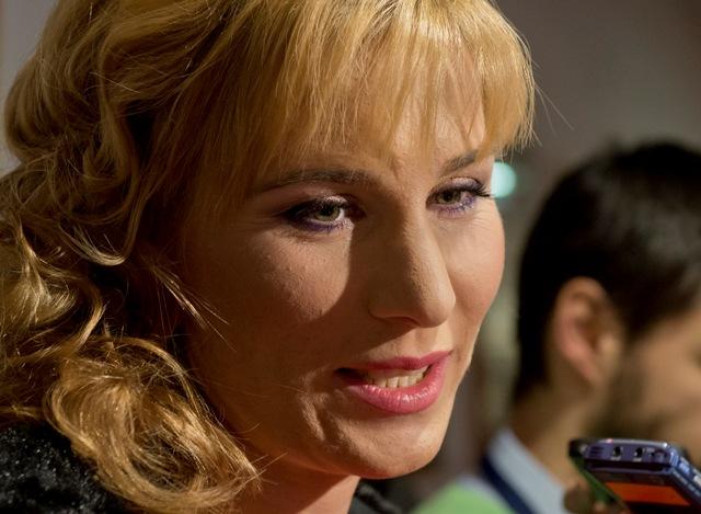 Na snímke Anastasia Kuzminová