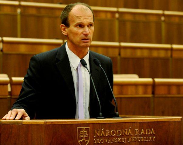 Na snímke poslanec NR SR Štefan Kuffa