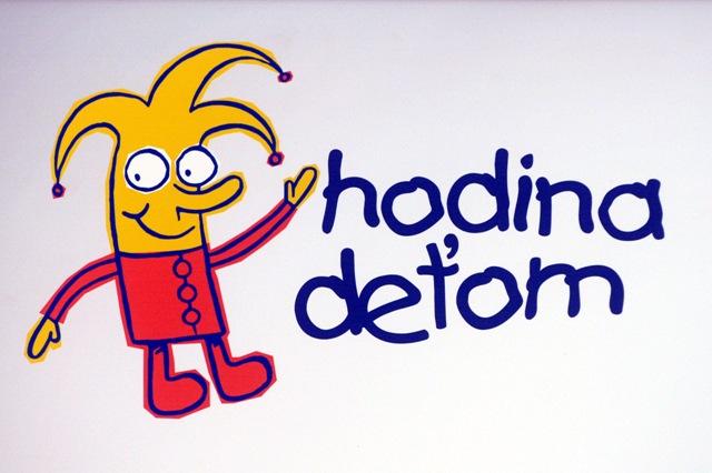 Na snímke logo Hodina deťom