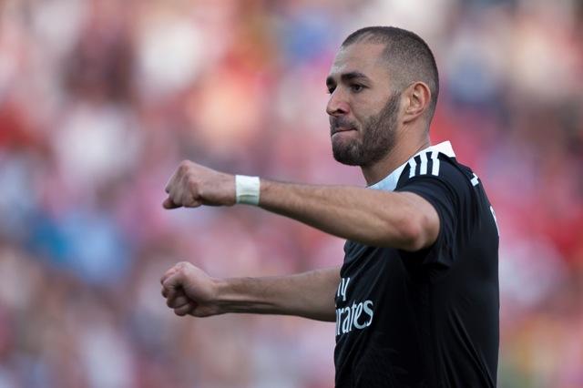 Na snímke francúzsky útočník Realu Karim Benzema