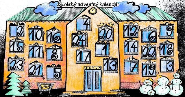 Adventný kalendár je na stránke www.velkaprestavka.sk