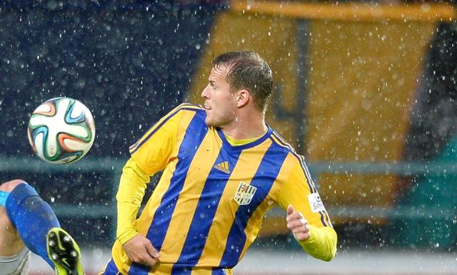Na snímke slovenský futbalista Roman Gergel