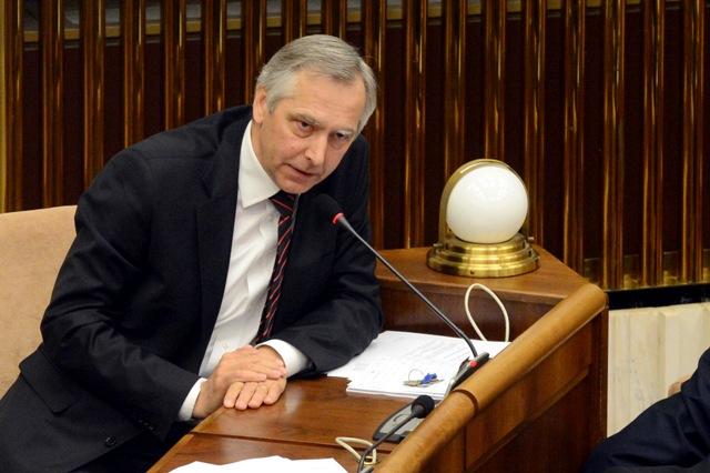 Na snímke podpredseda NR SR  a šéf KDH Ján Figeľ