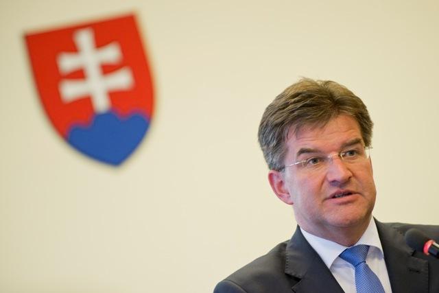 Na snímke podpredseda vlády a minister zahraničných vecí a európskych záležitostí SR Miroslav Lajčák