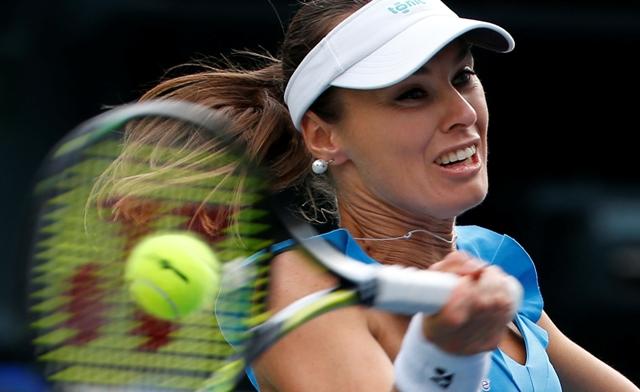 Na snímke švajčiarska tenistka Martina Hingisová