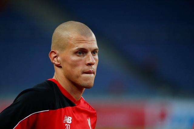 Na snímke slovenský stopér anglického klubu FC Liverpool Martin Škrtel