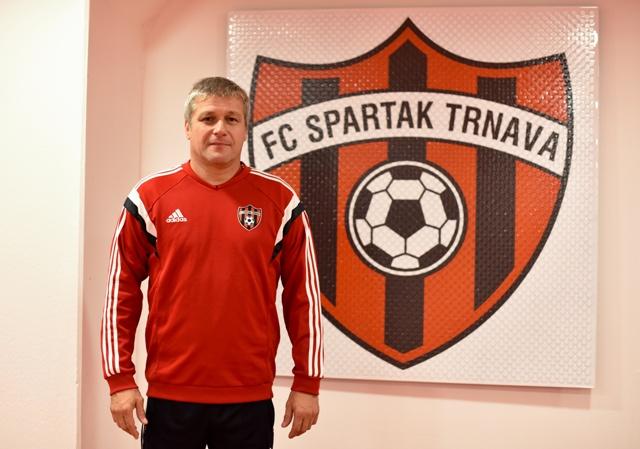 Na snímke nový tréner futbalového mužstva FC Spartak Trnava Ivan Hucko