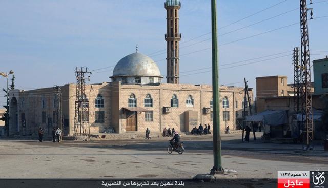 Na ilustračnej snímke z TV Sýrčania