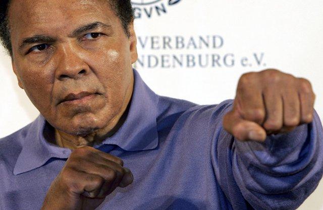 Na snímke Muhammad Ali
