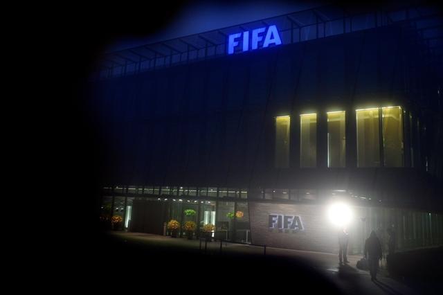 Pohľad na sídlo Medzinárodnej futbalovej federácie (FIFA) vo švajčiarskom Zürichu