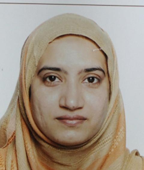 Na snímke Pakistanka Tashfeen Maliková