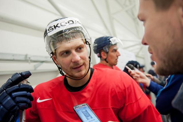 Na snímke vľavo Michal Sersen