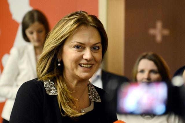 Na snímke Monika Flašíková Beňová, poslankyňa EP