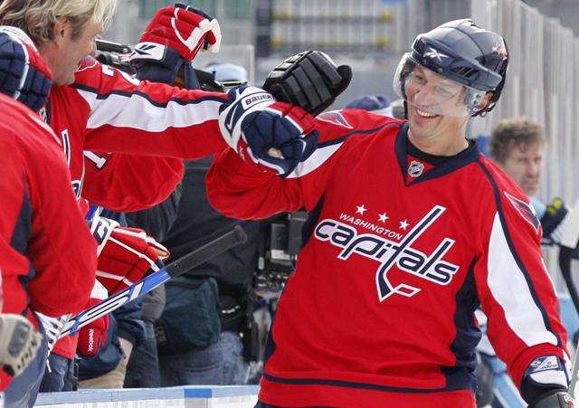 Na snímke bývalý slovenský hokejista Peter Bondra