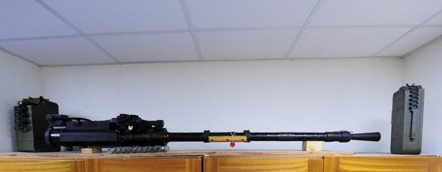 Na ilustračnej snímke ťažký guľomet