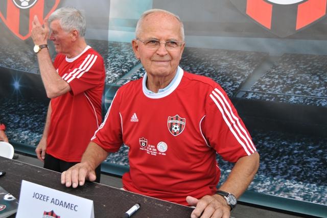 Na snímke bývalý futbalista tímu FC Spartak Trnava Stanislav Jarábek
