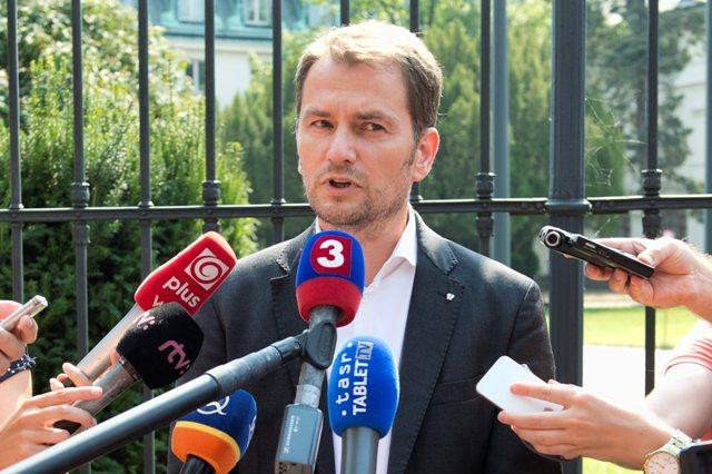 Na snímke líder OĽaNO Igor Matovič