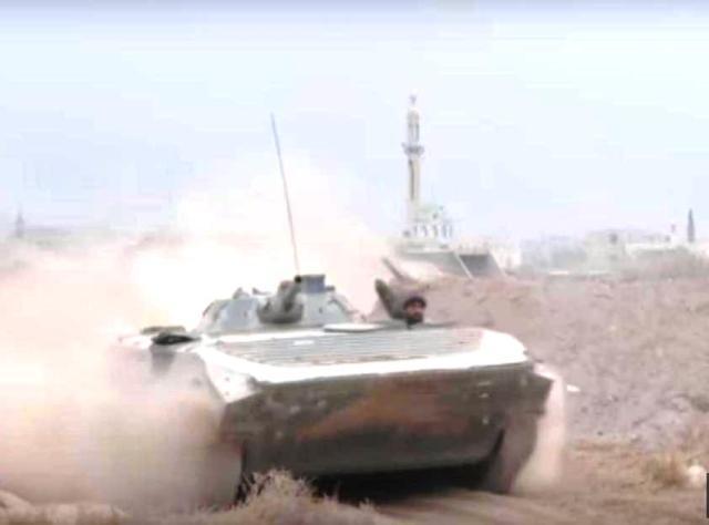Boje v Damasku