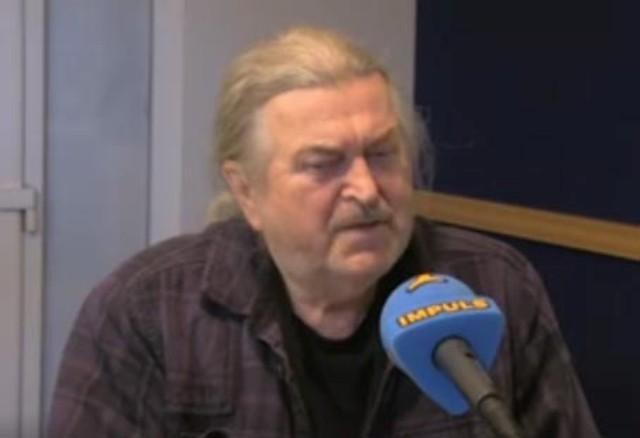 Na snímke populárny hudobník a bývalý poslanec František Ringo Čech