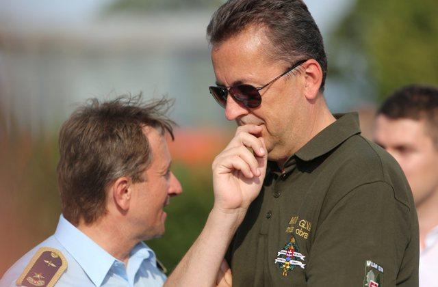 Na snímke minister obrany Martin Glváč