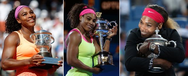 Na snímke americká tenistka Serena Williamsová