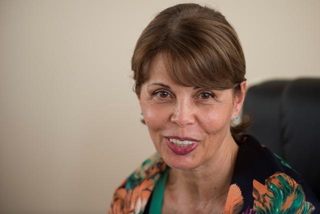 """Na snímke prezidentka združenia Sudcovia """"Za otvorenú justíciu"""" Katarína Javorčíková"""