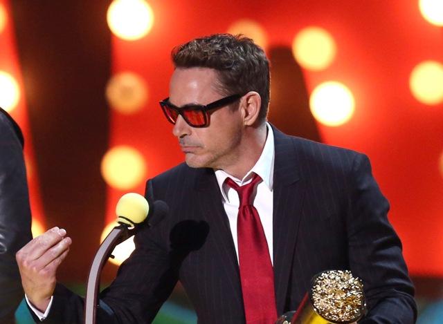 Na snímke americký herec Robert Downey Jr.