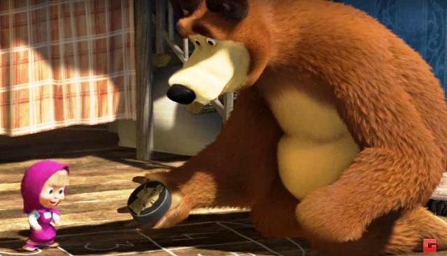 Ruský animovaný seriál o Maše a Medveďovi láme všetky rekordy popularity