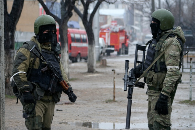 Na ilustračnej snímke vojaci ruských špeciálnych síl