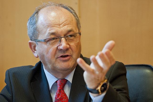Na snímke Viliam Páleník (Ekonomický ústav SAV)