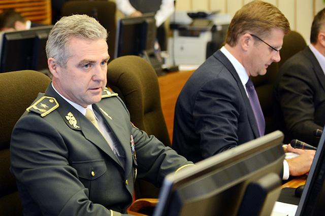 Na snímke prezident Policajného zboru Slovenskej republiky Tibor Gašpar