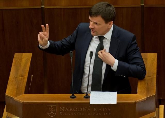 Na snímke poslanec NR SR Alojz Hlina (KDH)