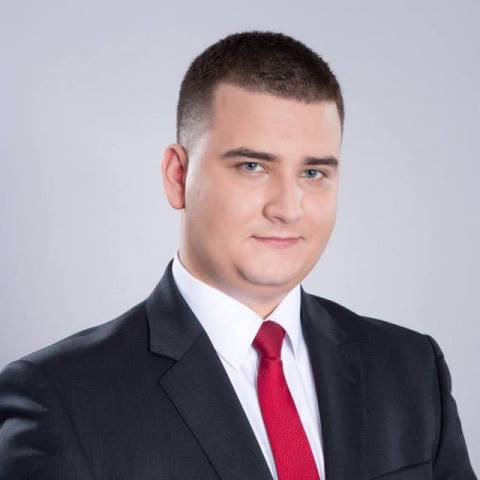 Na snímke poľský minister obrany Bartlomiej Misiewicz