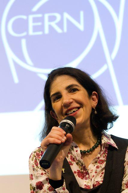 Na snímke Fabiola Gianottiová